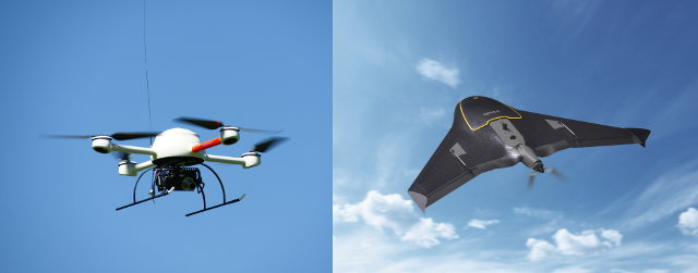 Ejemplos de UAV