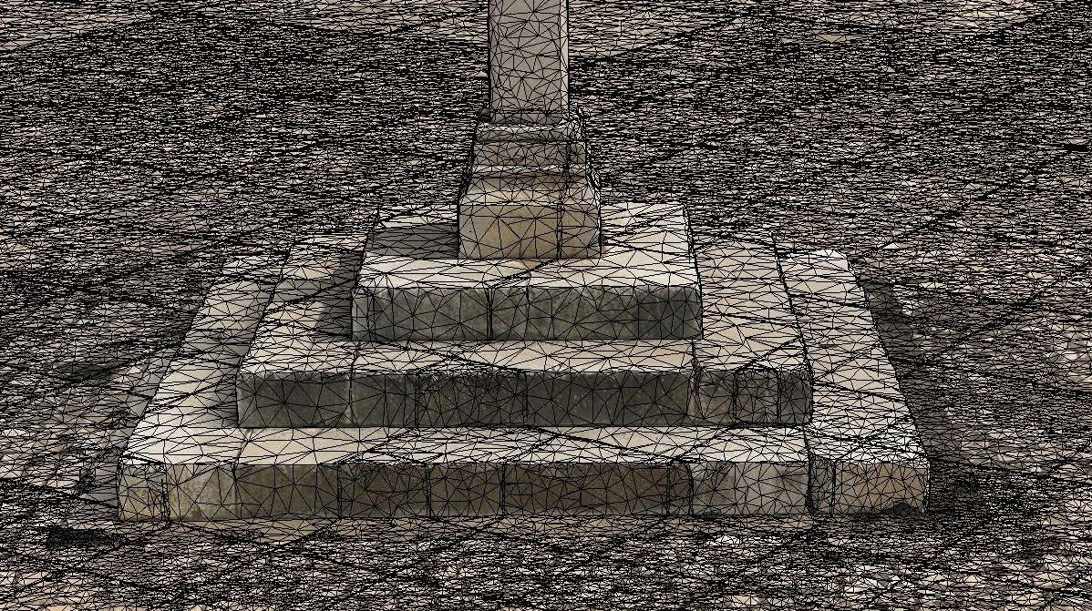 Base Pelourinho imagen mesh